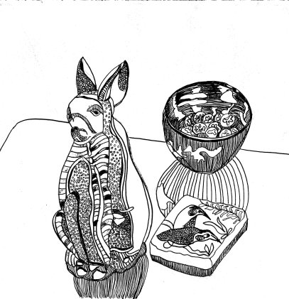 rabbit-desk.b&w.web