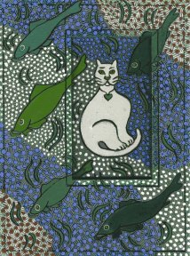 old-escher-white cat.web